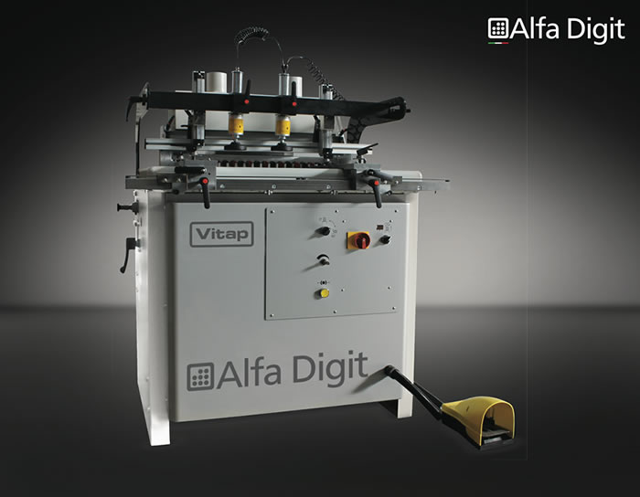 Пробивна машина Vitap Alfa Digit