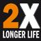 2x по-дълъг живот