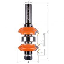 Регулируем фрезер за двустранно фрезоване на радиус и фаска 900.623